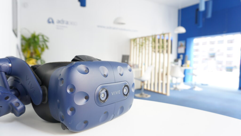 Gafas de realidad virtual para tours 360º