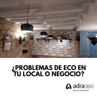 Hoy en #adraresuelve 👨🏻🏫 Te contamos el porque de los problemas de #eco en tu negocio y como solucionarlo 🗣 Si tienes alguna duda específica o quieres que valoremos tu local, somos tu equipo 👷🏻♂️ #adra360 #reformas #acondicionamientoacustico #locales #logroño