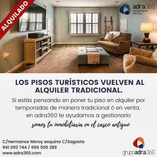 ¿Pensando en alquilar por temporadas o a largo plazo tu apartamento turístico? 🏨 En adra360 te ayudamos a gestionarlo 👩🏼🏫 #inmobiliaria #adra360 #reformas #Logroño