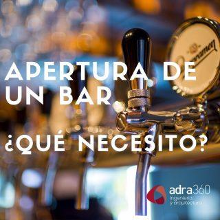 ¿Pensando en abrir tu propio bar? 🥂 Hoy te contamos algunas cosas que debes tener en cuenta 👨🏼💻 #adraresuelve #locales #licencias #bares #arquitectura