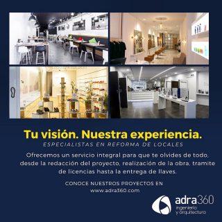 En adra360 estamos contigo. Unimos tu visión y nuestra experiencia para darle forma a ese local que sueñas. 🏙 #inmobiliaria #reformas #locales #adra360
