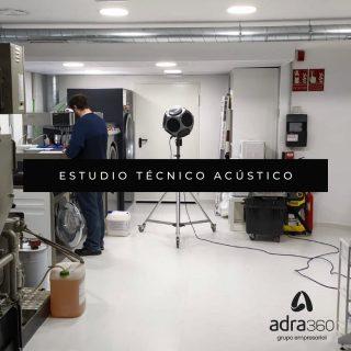 Nuestro equipo técnico ha realizado una medición en el nuevo local de @5asecespana en Logroño, con el fin de comprobar que el ruido que generan las máquinas cumple la normativa y no molesta a los vecinos ⭐️👷🏻♂️ #acustica #locales #Logroño