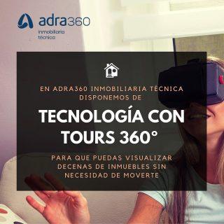 En adra360 inmobiliaria técnica pensamos en tu bienestar. Por eso te ofrecemos la tecnología para que puedas visualizar decenas de inmuebles sin necesidad de moverte. 🖥 Conoce más en www.adra360.com